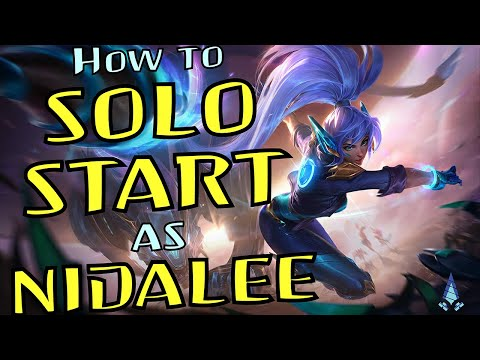 What 99% of players are doing wrong as Nidalee - How to Solo Self Start in Jungle