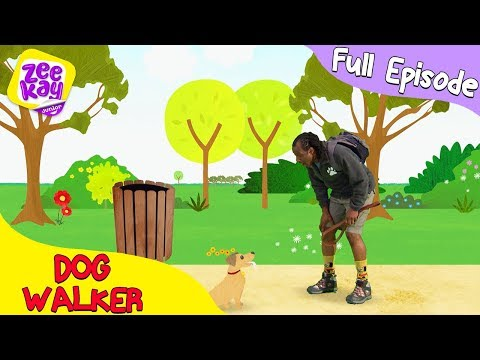 Let's Play: Dog Walker | FULL EPISODE | ZeeKay Junior