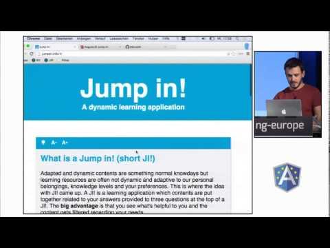 AngularJS Jump in