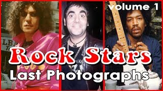 Last Photographs of Rock Stars ( VOLUME 1 )