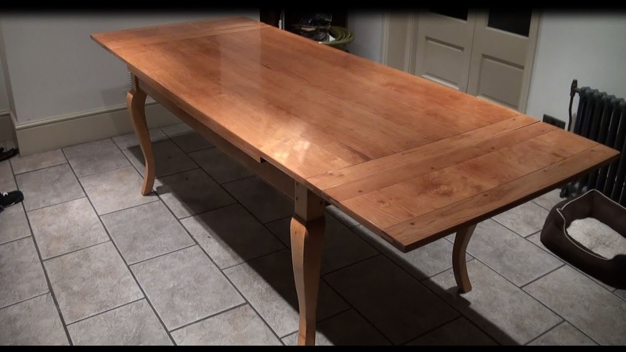 Refinishing Dining Table, Table Restoration London,   YouTube
