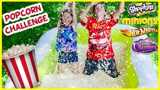 40 LB POPCORN POOL CHALLENGE WITH BLIND BAGS TOYS SHOPKINS STAR WARS FUNKO ORBEEZ POOL PARODY PLP TV