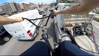 GoPro BMX Bike Riding in NYC 5(Part 5 of the GoPro NYC BMX Series featuring Anthony Panza, Austin Augie and myself (Billy Perry). Riding spot, weaving through traffic, sketching cars, and ..., 2016-08-07T23:30:37.000Z)