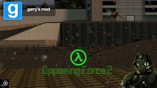 Gmod Mod Reviews: Opposing Force 2!