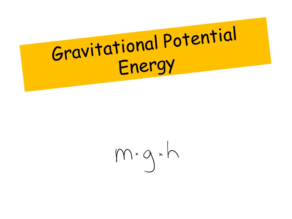 Gravitational Potential Energy (examples, solutions, videos, notes)