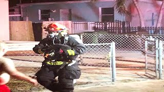Hialeah family displaced after house fire, rescue workers helped rescue 18 animals