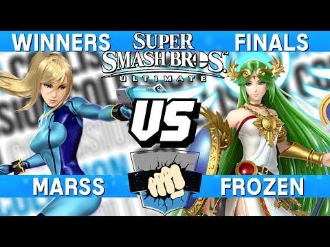 Collision 2019 Winners Finals - Marss (Zero Suit Samus) vs Frozen (Palutena) - Smash Ultimate thumbnail