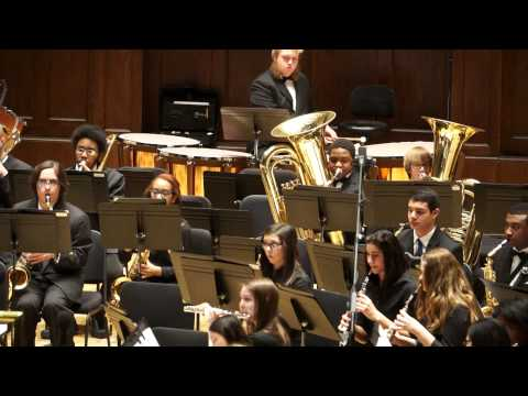 Dervish Dance, Elliot Del Borgo, Detroit Symphony Civic Symphonic Band, 3/2/2014