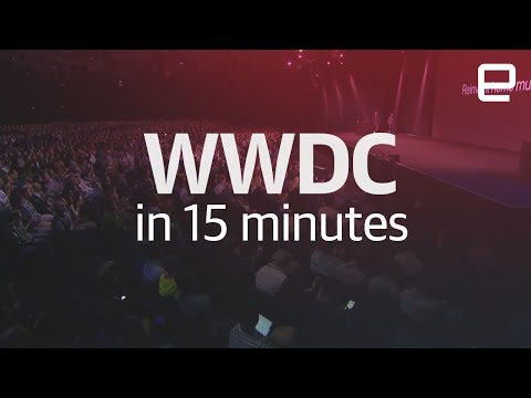 WWDC 2017 keynote in 15 minutes