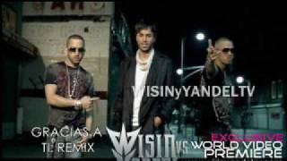 Gracias a Ti: Remix - Wisin Y Yandel & Enrique Iglesias NUEVO 2009 LA EVOLUCION + LYRICS