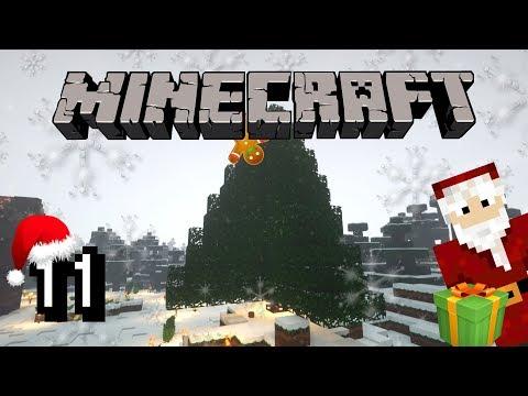 WEIHNACHTSBAUM BAUEN - Minecraft Christmas Special 2018 #11