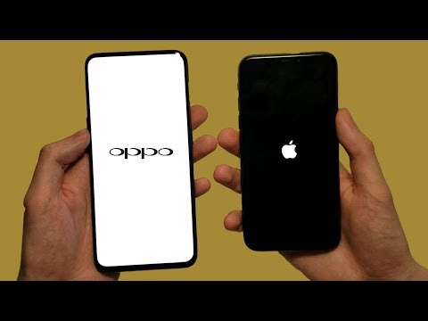 Oppo Find X vs iPhone X Speed Test, Speakers & Cameras!