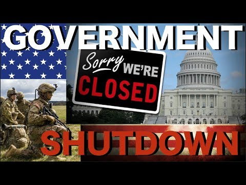 Should The U.S. Military Panic? The Government Shutdown 2018 & The Military -- What Happens Now?