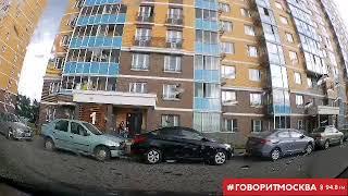 Фото В Люберцах упавшее с 12 этажа окно едва не травмировало женщину с детьми