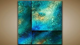 Depth and Texture / Abstract Painting / Demo 126 / Galaxy / Acrylics / Painting Techniques