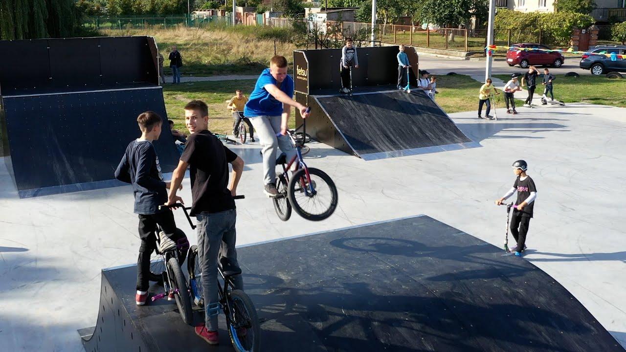 У Білій Церкві відкрито сучасний скейт-парк 🛹