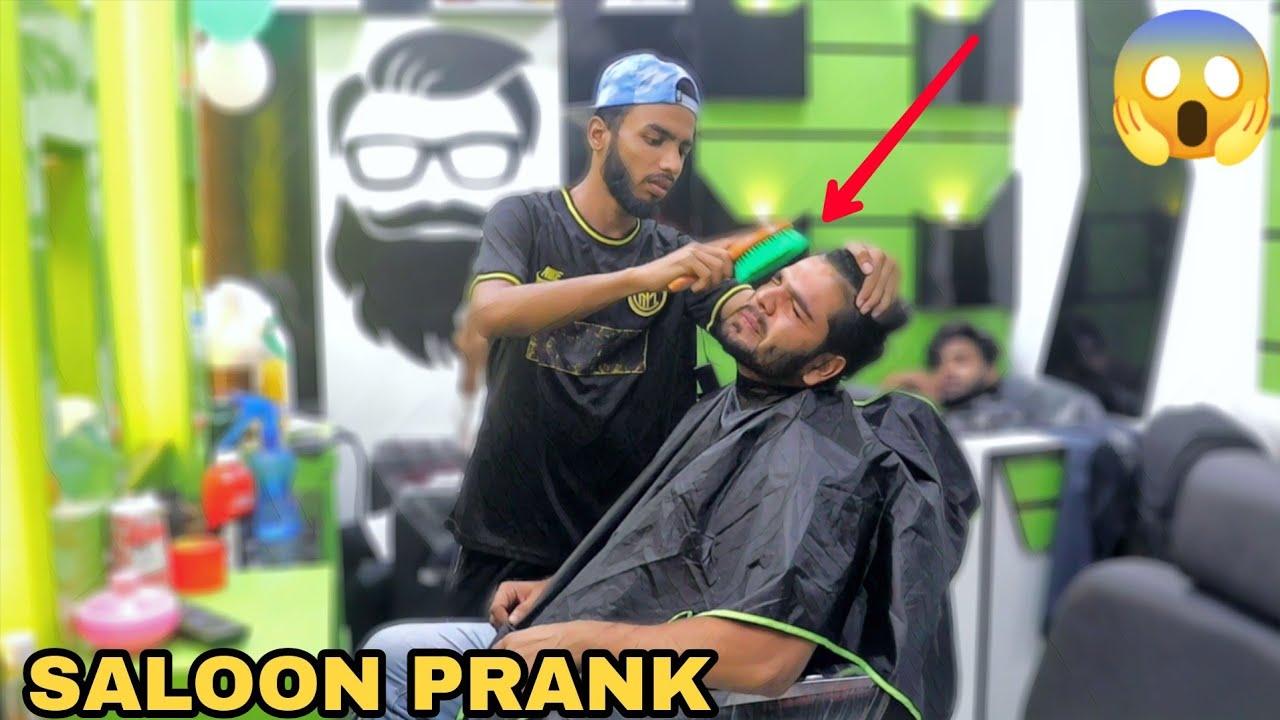 Saloon Prank Part 7 ! || MOUZ PRANK