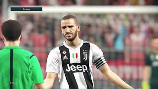 PES 2019 / Atletico Madrid vs Juventus / UEFA Champions League / PC Gameplay