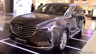 2018 MAZDA CX 9 QUICK REVIEW best & beautiful 2017 7 seater