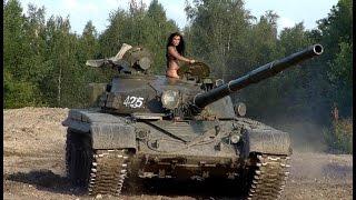 Денис TV - Ленино-Снегиревский военно-исторический музей/ Американские,Русские,Немецкие танки