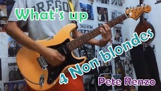 Whats Up - 4 Non blondes (Guitar cover)+TABS