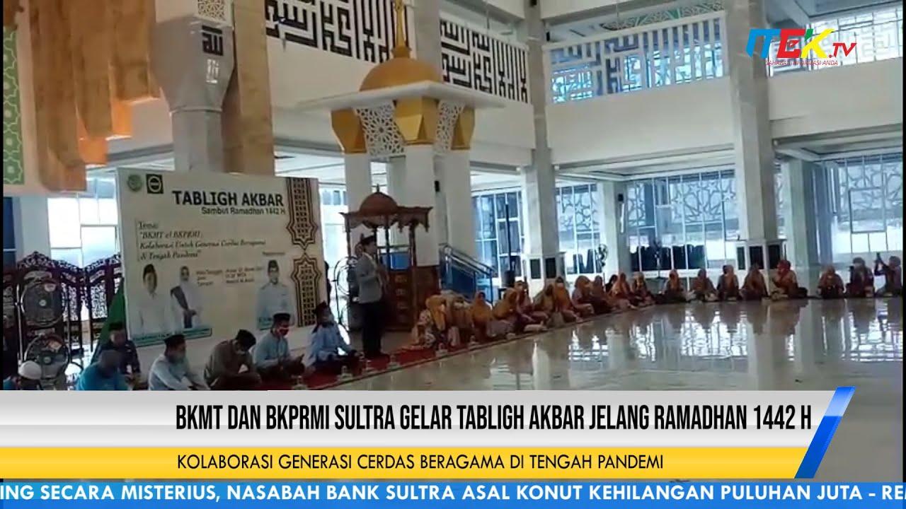 BKMT dan BKPRMI Sultra Gelar Tabligh Akbar Jelang Ramadhan 1442 H
