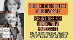 Divorcing a Narcissist. Top Divorce lawyers share tips - Susan Guthrie and Rebecca Zung