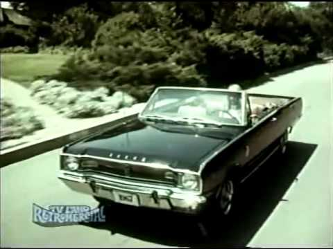 1967 Dodge Dart car TV ad with Pamela Austin