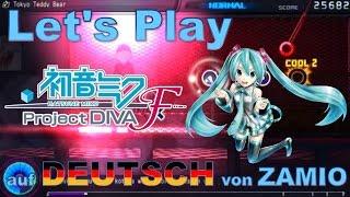 Let's Play Hatsune Miku: Project Diva F - Alle Funktionen und einige Hörbeispiele [Deutsch / German]