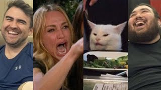 Woman Yelling At Cat Meme  Meme Couch