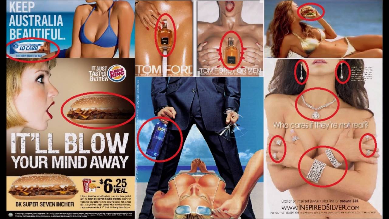 Sexuality in media/advertisement