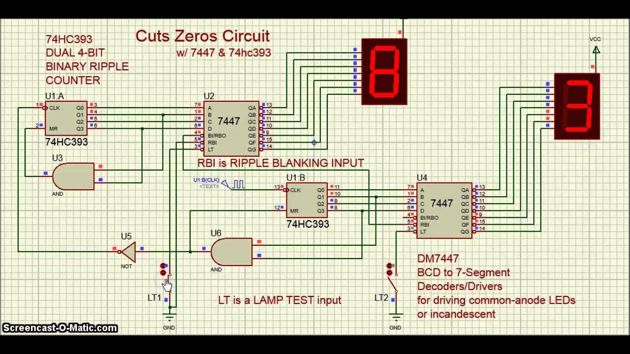 small resolution of proteus ic 7447 ic 74hc393 cuts zeros circuit