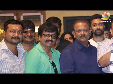 Bobby Simha, Vivek, Amala Paul in Thiruttu Payale 2 | Movie Pooja | AGS Entertainment Next Movie