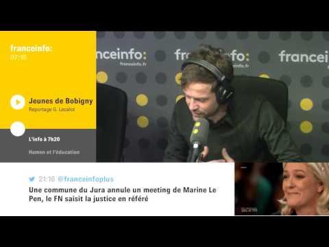 Un meeting de Marine Le Pen dans le Jura annulé pour des raisons de sécurité