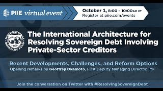 Resolving Sovereign Debt Involving Private-Sector Creditors