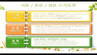 [교직실무06강]논술문(서론) 쓰기요령,교육과정 개발