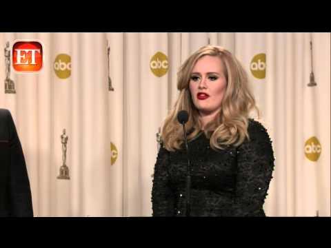 Adele on 'Skyfall' Win, EGOT Aspirations Mp3