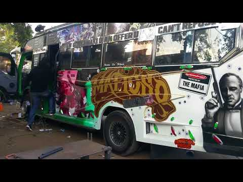 Impressions of Royal Swift's 'The Godfather Matatu' - Nairobi
