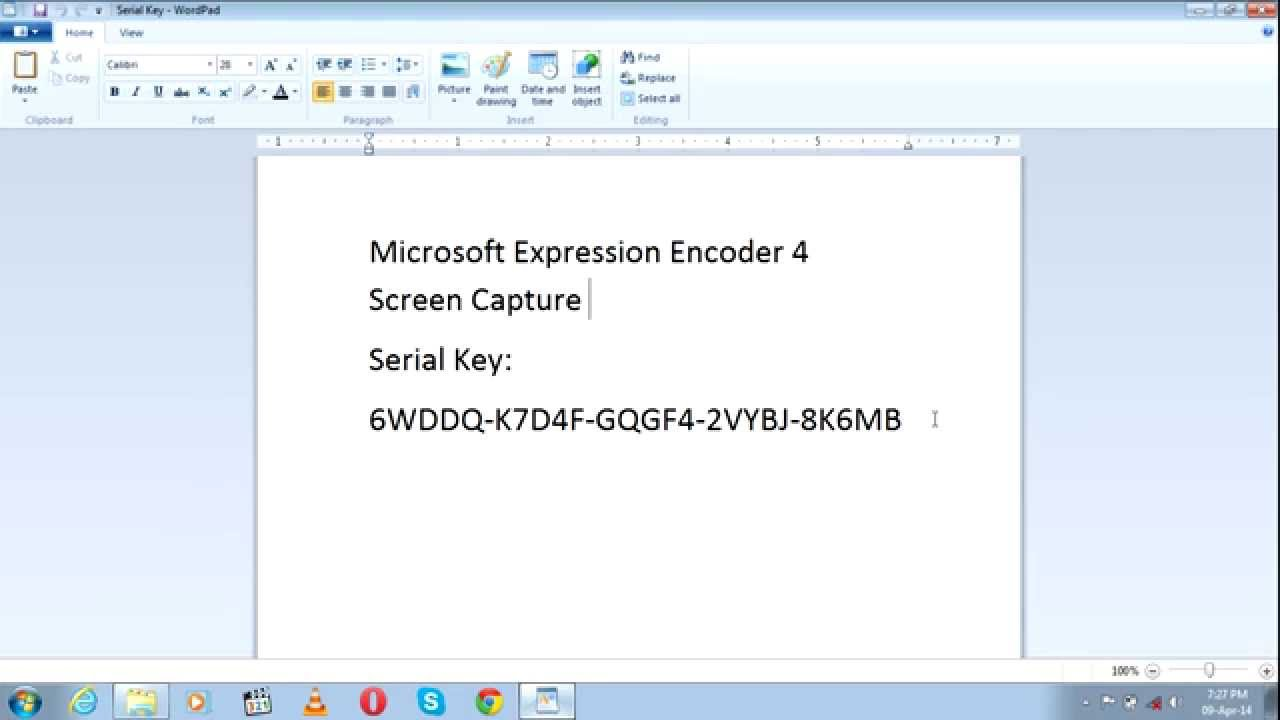 Microsoft Expression Encoder 4 Product Key Generator