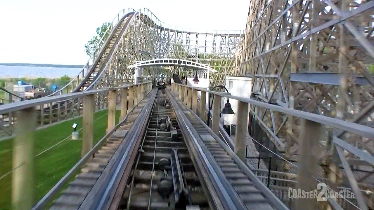 Zippin Pippin Coaster Pov Bay Beach