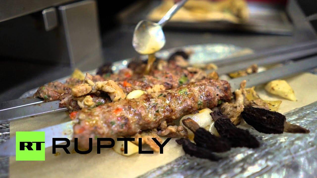 وجبة أغلى كباب في العالم تقدم في مطعم فاخر في لندن