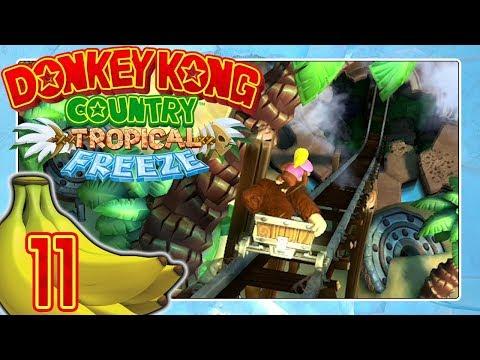 DONKEY KONG COUNTRY: TROPICAL FREEZE 🍌 #11: Silhouetten-Tauchen