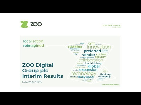 ZOO Digital Group (ZOO) H1 19 investor presentation