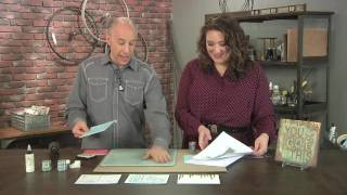 Seth Apter shares innovative embossing ideas on Make It Artsy (113-4)