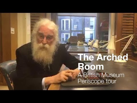 Behind the scenes in the Arched Room (Periscope comments removed)
