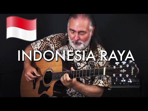 Indonesia Raya | Indonesian National Anthem I Fingerstyle Guitar