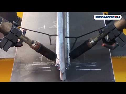 Полупортальная система для сварки балок WA 1000 / WA 1500, Promotech (Польша)