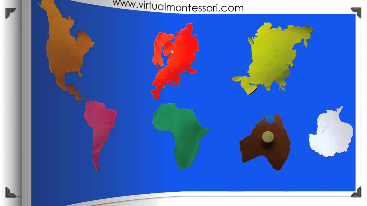 Montessori geography the 7 continents youtube montessori geography the 7 continents gumiabroncs Choice Image