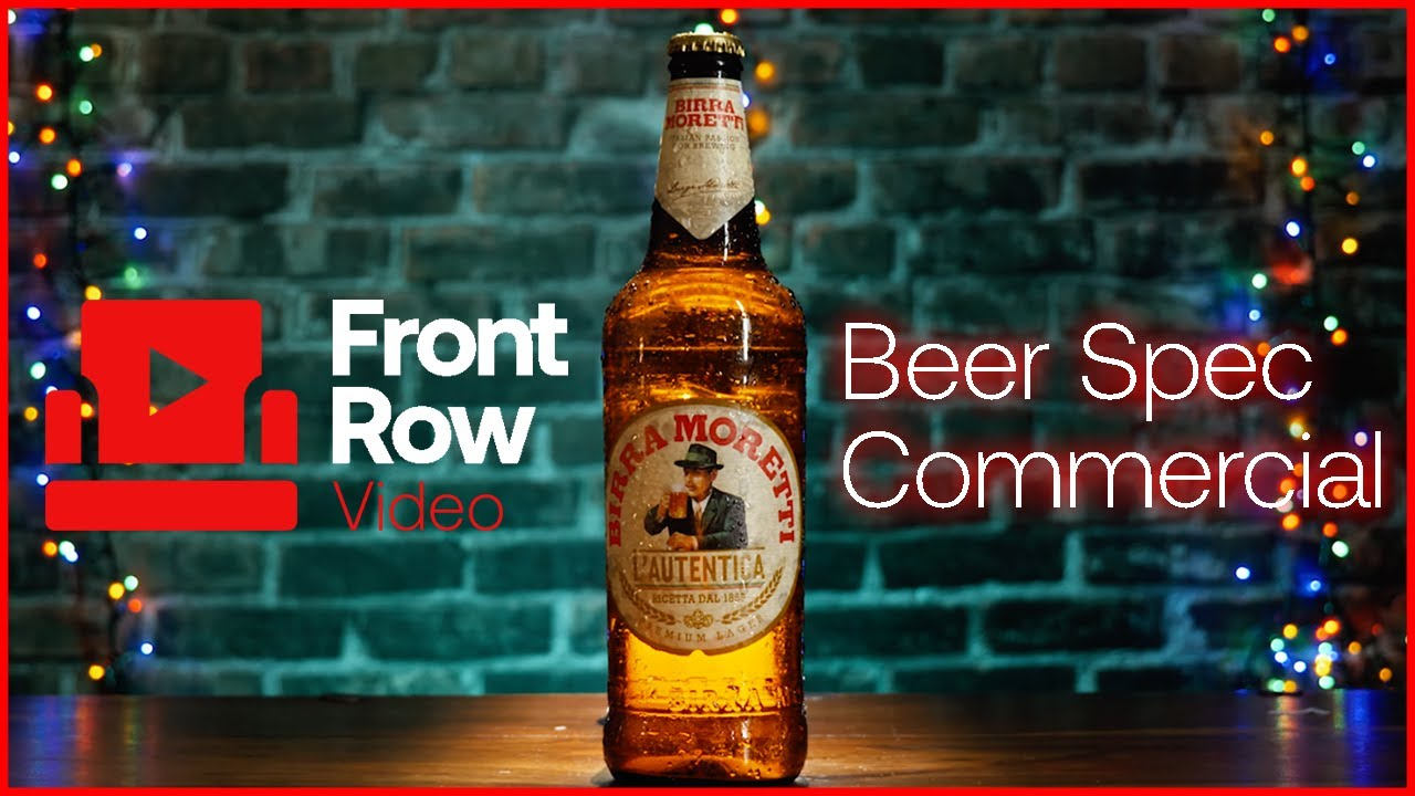 Beer Spec Commercial - Front Row Video