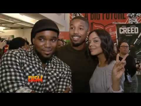 Headkrack Dishes With The Stars Of 'Creed'!